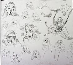 Glen Keane. Castles in the Air: Getting Tangled: Rapunzel's Character Design