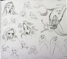 Tangled by Glen Keane. ✤ || CHARACTER DESIGN REFERENCES | キャラクターデザイン • Find more at https://www.facebook.com/CharacterDesignReferences if you're looking for: #lineart #art #character #design #illustration #expressions #best #animation #drawing #archive #library #reference #anatomy #traditional #sketch #development #artist #pose #settei #gestures #how #to #tutorial #comics #conceptart #modelsheet #cartoon #face #female #woman #girl || ✤