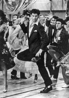 Grease, hand jive….John Travolta is so young!