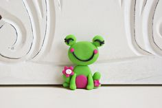 Ribbit.......cute idea