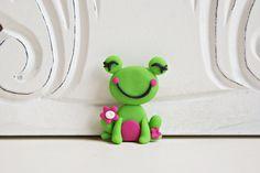Ribbit.......cute idea