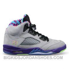 hot sale online 837bd b17e1 621958-090 Air Jordan 5 Bel Air Cool Grey Court Purple-Game Royal-Club Pink  ( Men Women GS Girls) 2016 Retro