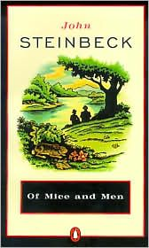 Of Mice and Men, even if you know how it  ends, this is worth reading. It's a short book but an amazing example of why Steinbeck it so revered. He is a master of the English language. Vincennes University, Central California, Of Mice And Men, Great Books, My Books, Ranch, Through The Looking Glass, Audio Books, Penguins