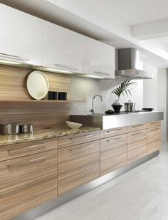 olive wood kitchen