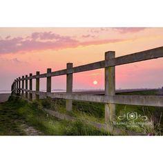 Evening Spring walk along The Humber estuary near Brough. East Yorkshire.