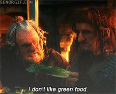 This whole scene was hilarious! I was thinking the whole time, this is probably how people feel when they eat at my house!