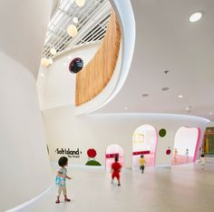 SAKO architects family box in beijing china. SAKO architects shapes playful educational center in beijing