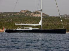 My God....Wally Yacht, Saudade