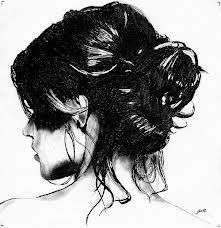 #hair #drawing #bun