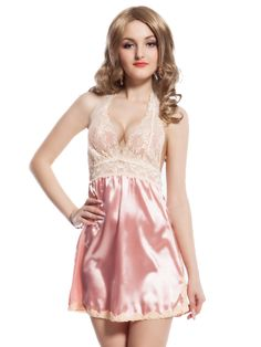 Look hot and spicy in this valentine with  this babydoll dress. Featuring semi transparent white net front and a back cut hole on the butt makes it hottest dress ever.  Made of fine polyester this dress is very comfortable and easy to wash.  100% Discreet Shipping