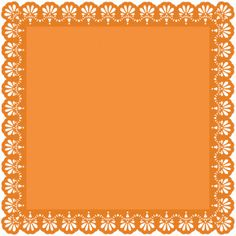 Silhouette Online Store - View Design #42346: 12 x 12 samantha walker lace edge square