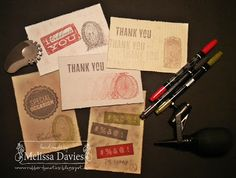 Stamp & Tool Kit  - Dude, You're Welcome! Created by Melissa Davies @ rubberFUNatics