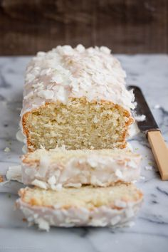 Lime-Coconut Quick Bread | Portuguese Girl Cooks on We Heart It.