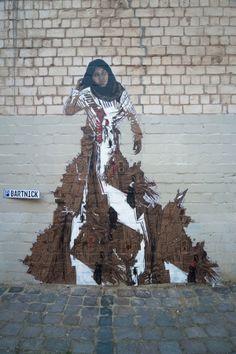 Swoon Street Artist. #swoon http://www.widewalls.ch/artist/swoon/
