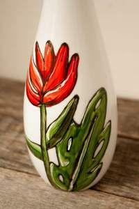 Bouteille d'huile ou vinaigre design fleur tropical 450 ml idée cadeau – Pero