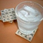 How-to: Scrabble Drink Coaster