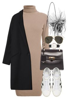 """Untitled #3661"" by lily-tubman ❤ liked on Polyvore featuring Rumour London, Balenciaga, Yves Saint Laurent, Gérard Darel, Daniel Wellington, women's clothing, women's fashion, women, female and woman"