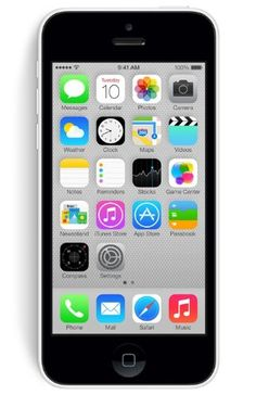 "Apple iPhone 5C - Smartphone libre iOS (pantalla 4"", cámara 8 Mp, 8 GB, Dual-Core 1.3 GHz, 1 GB RAM), blanco"