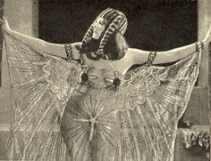 Cleopatra and Egyptology Cleopatra must also have had some influence on the bobbed style and the later flapper look. Archaeology and antiquarianism had developed considerably in the late 19th Century and this was of great interest in the media. Epic silent movie Cleopatra is popular in 1917 – starring the vampish Theda Bara(below).