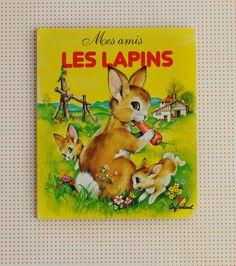 livre les lapins vintage