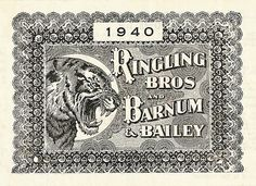 Ringling Bros 1940