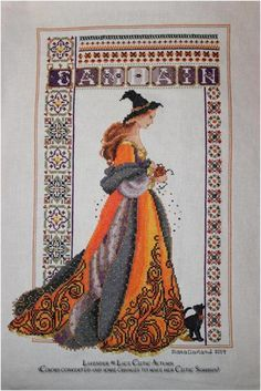 """Wheel of the Year Celtic Ladies Project 