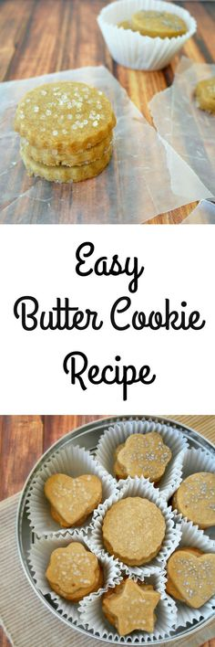 There is nothing as delicious as this Butter Cookie Recipe, and truly no cookie as easy to make. The simple classic list of ingredients coupled with the use of the @HailtonBeach 6 Speed Hand Mixer make it a fast and easy recipe to make to serve as a special dessert, kids lunch box treat or even holiday cookie. - Teaspoon Of Goodness #ad