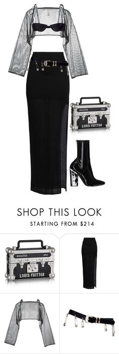"""Untitled #672"" by milly-oro on Polyvore featuring Helmut Lang, demoo parkchoonmoo, Versace and Christian Dior"