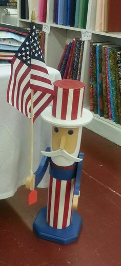 Uncle Sam porch greeter #2