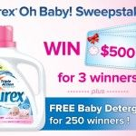 """Purex """"Oh Baby"""" Detergent Sweepstakes (Ends 1/25)"""