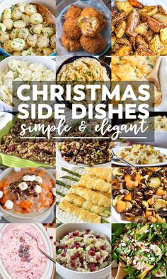 60 Best Christmas Side Dishes | YellowBlissRoad.com