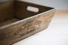 Box French Paris photography eat kitchen by UnAirDeParisByAlbane, $20.00