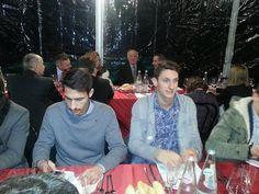 Foto dalla cena natalizia