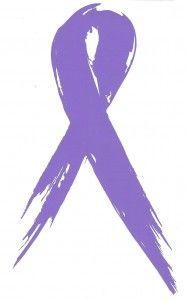 Tattered Awareness Ribbon (Sticker)