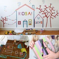 9 Washi Tape Crafts For Kids