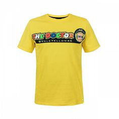 Valentino Rossi, Vr46, Sportswear, T Shirt, Tees, Mens Tops, Products, Fashion, Yellow
