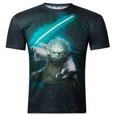 Star Wars 3D Yoda T-Shirt