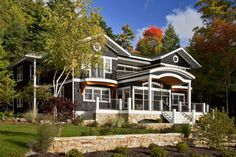 Private Residence, Lake George, Hague, NY | Phinney Design Group, Saratoga Springs, NY