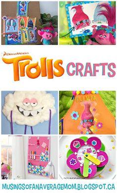 Trolls Craft ideas