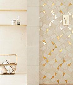 Plain Stone | Tubądzin House Design, Stone, Interior, Interior Wall Design, Tile Design, Kitchen And Bath, House Styles, Interior Design, Bathroom Decor