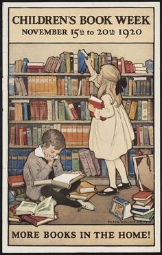 Children's Book Week 1920. I remember it well.