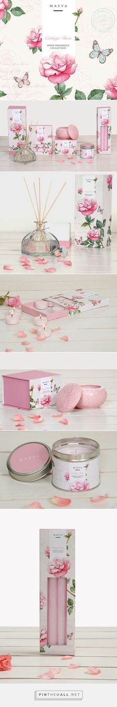 Cottage Rose Home Fragrance Branding and Packaging by Ram Kumar | Fivestar Branding – Design and Branding Agency & Inspiration Gallery