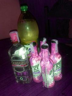 #Vodka#Gordon's#7up