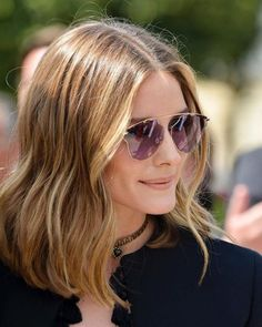 Stunning : Olivia Palermo At Paris Haute Couture Fashion Week Olivia Palermo Hair, Olivia Palermo Style, Balayage Blond, Blonde Hair, Short Balayage, Balayage Hairstyle, Hair Inspo, Hair Inspiration, Corte Y Color