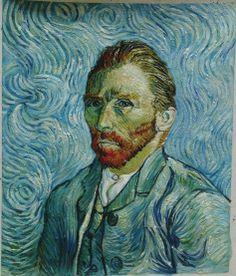 Vincent van Gogh: Self-portrait, September 1889. F627, Saint Rémy, oil on canvas, Musée d'Orsay, Paris.