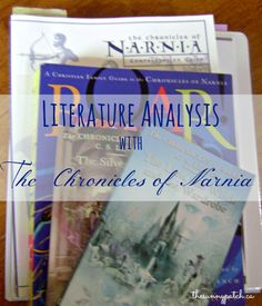 Studying The Chronicles of Narnia with upper elementary-middle school students - resources, tips, and advice about great books for kids.