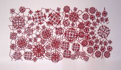 Lace the Final frontier, Michael Brennand-Wood, 2011. Photo: Sophie Mutevelian