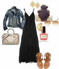 Resultado de imagen de outfits chamarra negra de mezclilla