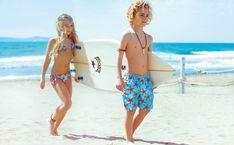 Saint Barth - Swim Shorts, Bikinis, Swimwear and Beachwear - Saint Barth Dolce Gabbana Kids, Burberry, Boys Swimwear, Beach Ready, Summer Wear, Swim Shorts, Cool Kids, Beachwear, Kids Outfits