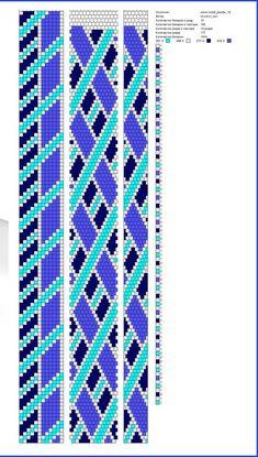 Crochet Bracelet Pattern, Loom Bracelet Patterns, Crochet Beaded Bracelets, Bead Crochet Patterns, Beaded Crafts, Jewelry Patterns, Beading Patterns, Spiral Crochet, Bead Crochet Rope